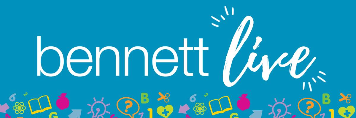 Bennett Live email header