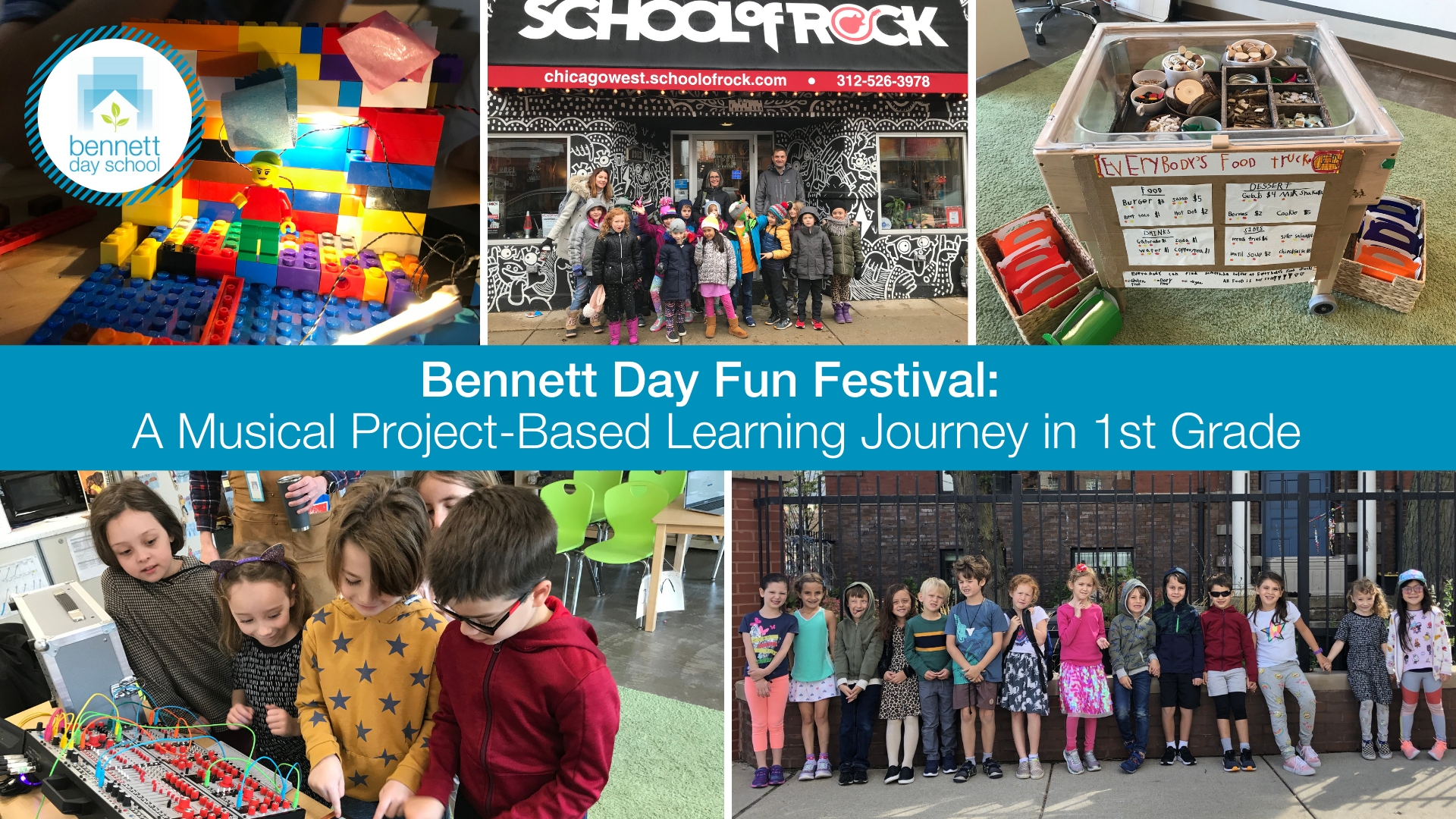 Bennett Day Fun Festival: A Musical Project-Based Learning Journey in 1st Grade